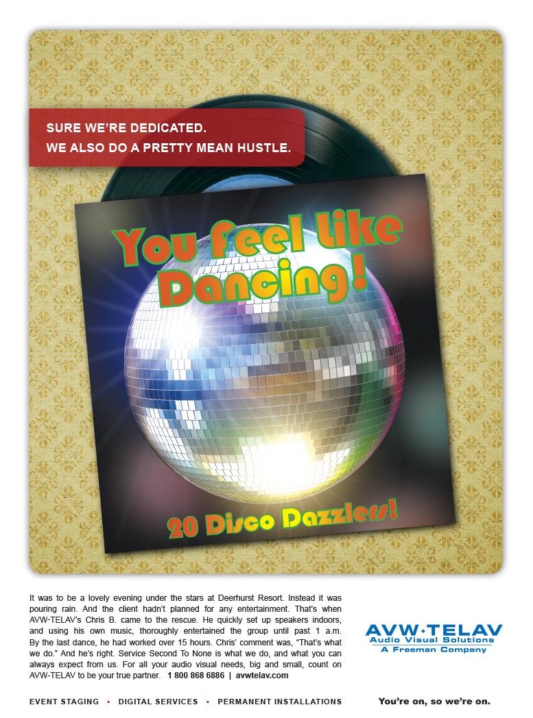Disco Ball AVE TELEV print
