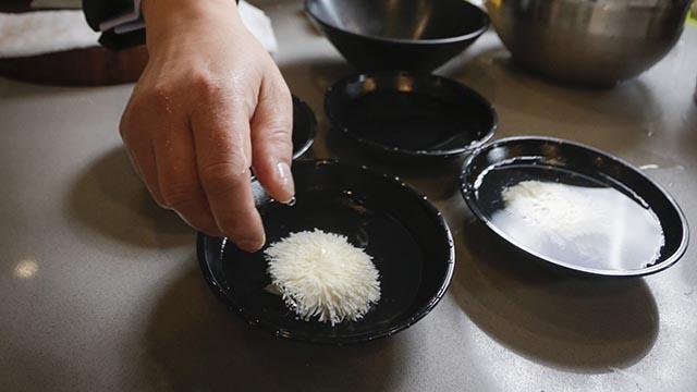 tofu knife skill Chinese chef